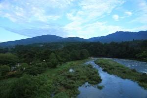 福岡ローマン渓谷オートキャンプ場でファミリーキャンプ 付知川で川遊びも!