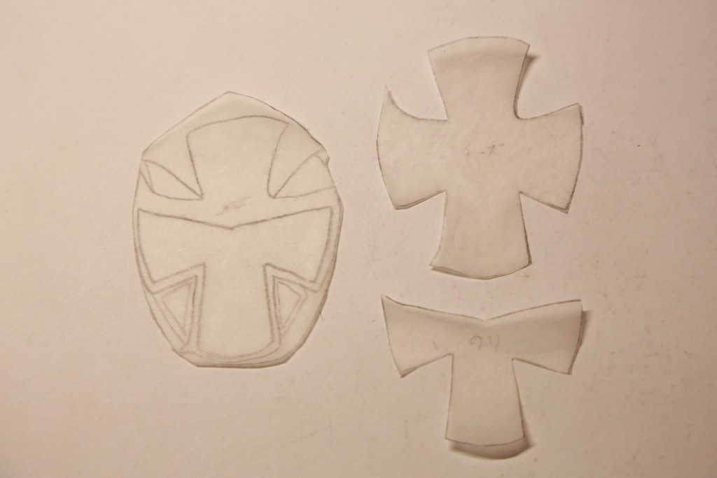 アカニンジャー型紙
