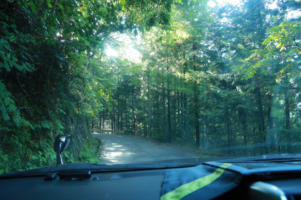 易老渡までの道1