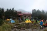 聖平小屋全景