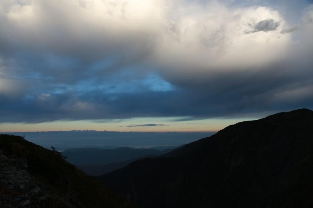 小聖岳からの眺め
