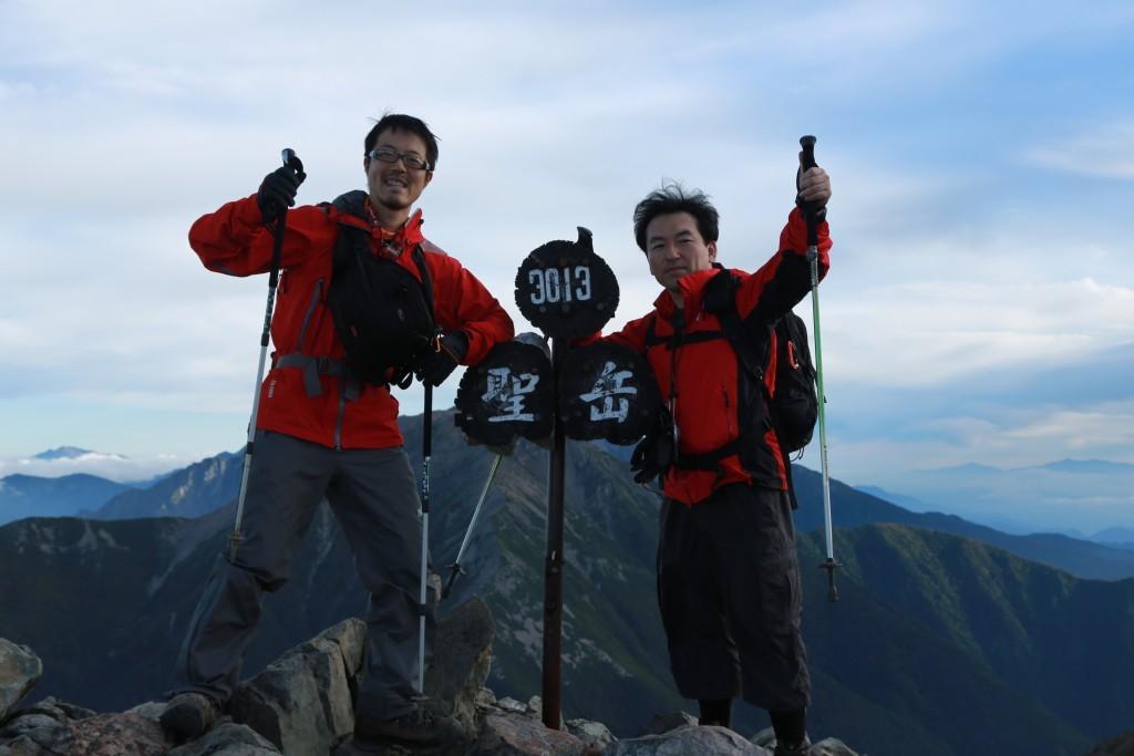 聖岳頂上2