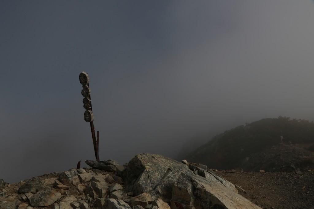 小聖岳山頂2