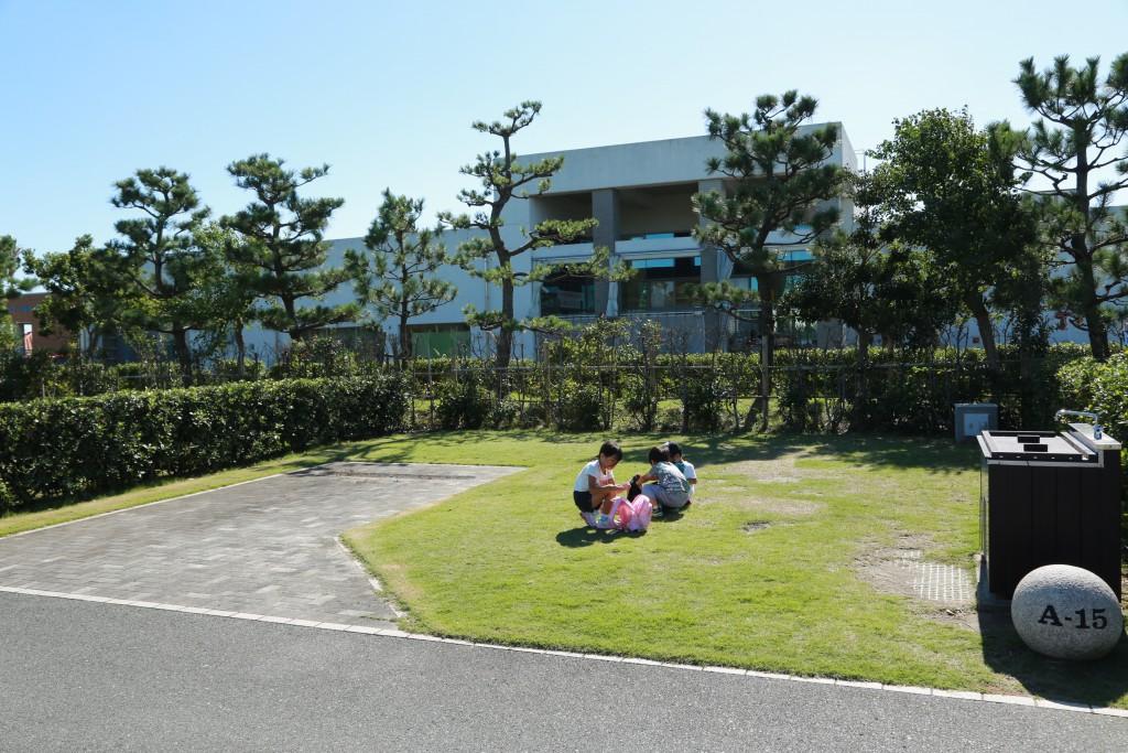 竜洋海洋公園 区画サイト1