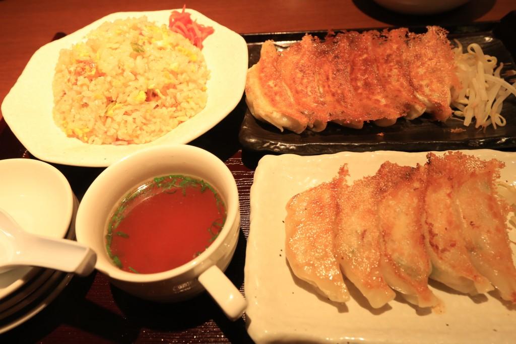 浜太郎の餃子セット