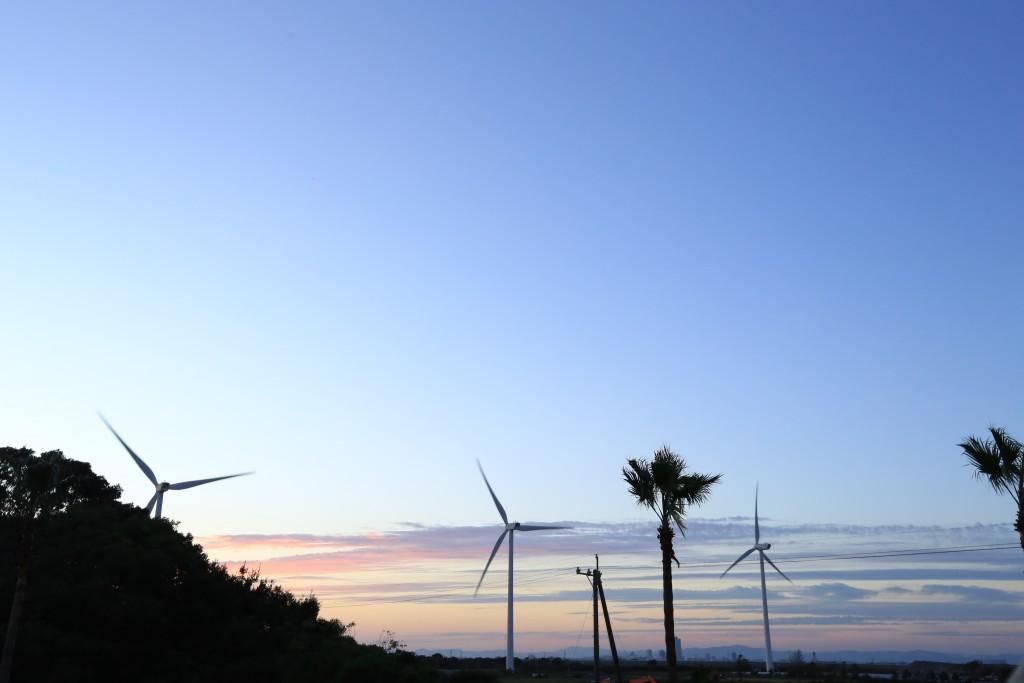 竜洋海洋公園の夕暮れ4