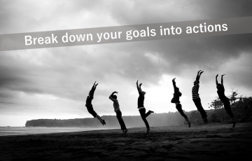 目標を行動へ