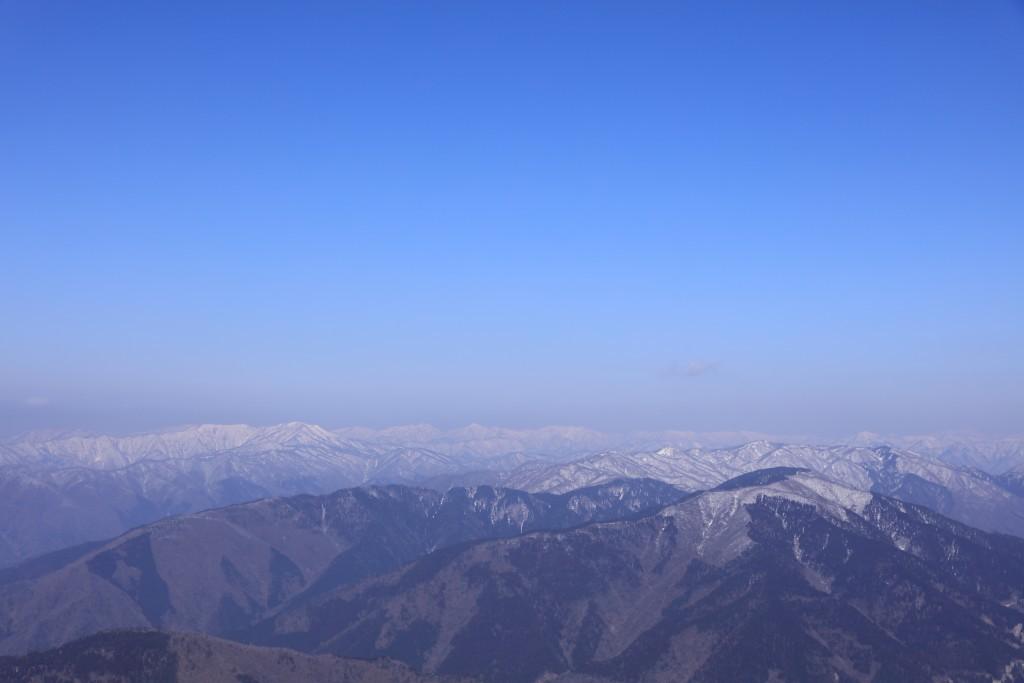 伊吹山 山頂からの眺め1