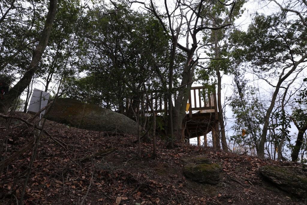岩巣山 展望台