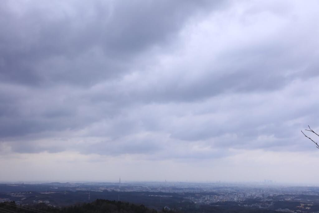 岩巣山 展望台からの景色