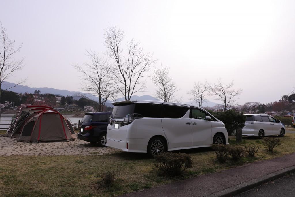 椛の湖 キャンプサイト