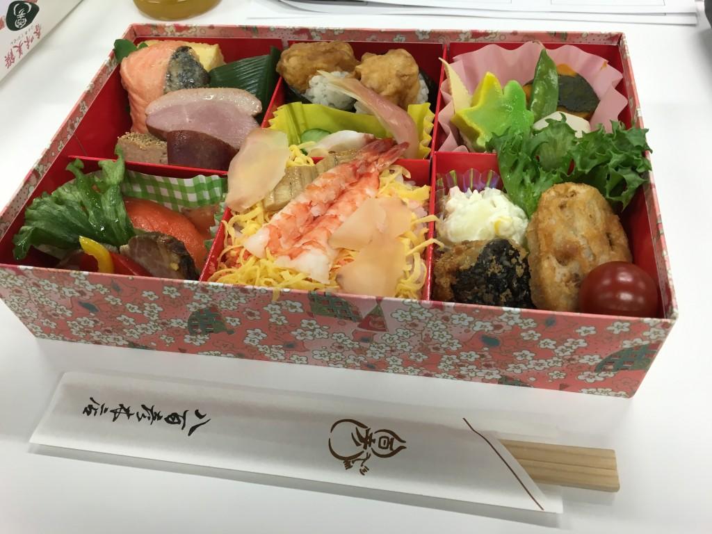立花岳志 セミナー お弁当