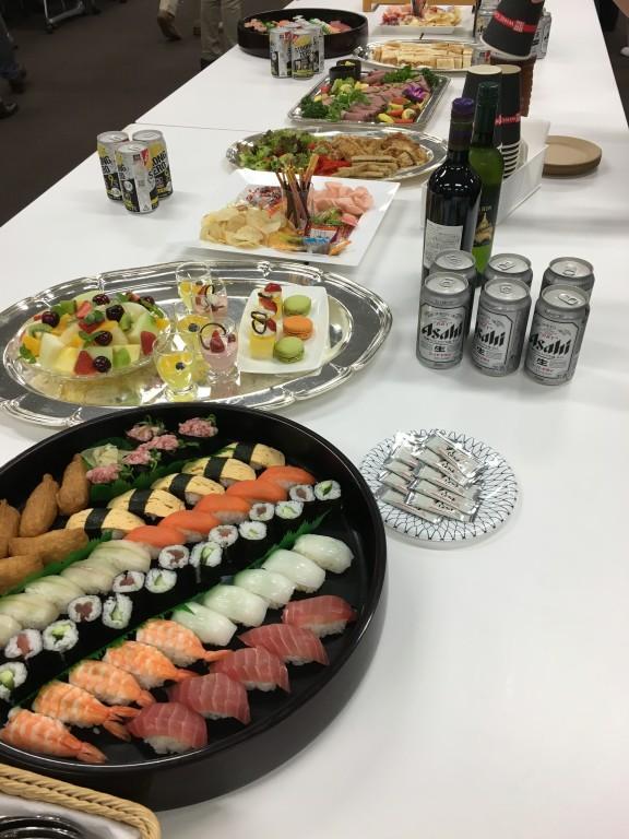 立花岳志 セミナー 懇親会 食事