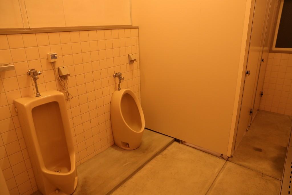 ひだ流葉オートキャンプ場 トイレ1