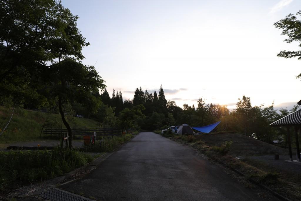 ひだ流葉オートキャンプ場 キャンプサイト