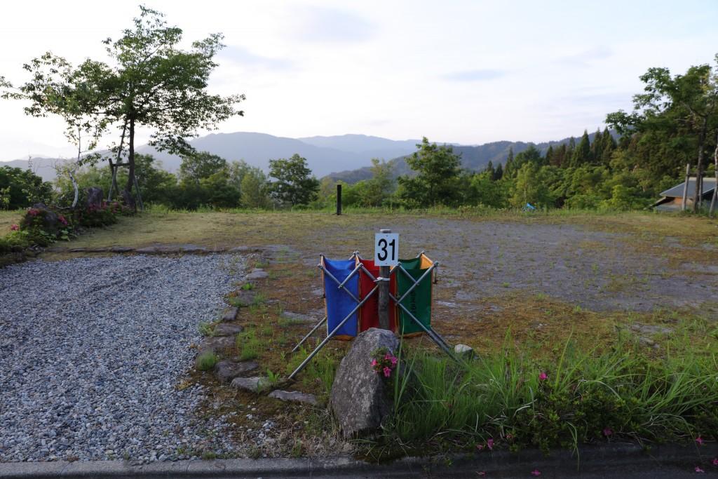 ひだ流葉オートキャンプ場 31番サイト