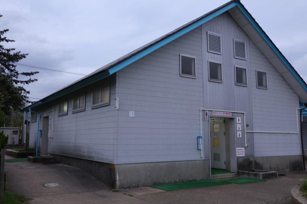 高木浜オートキャンプ場 トイレ・シャワー室
