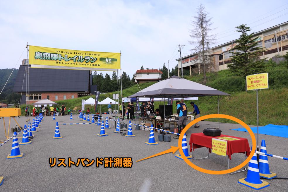 160612 奥飛騨トレイルラン リストバンド計測器1