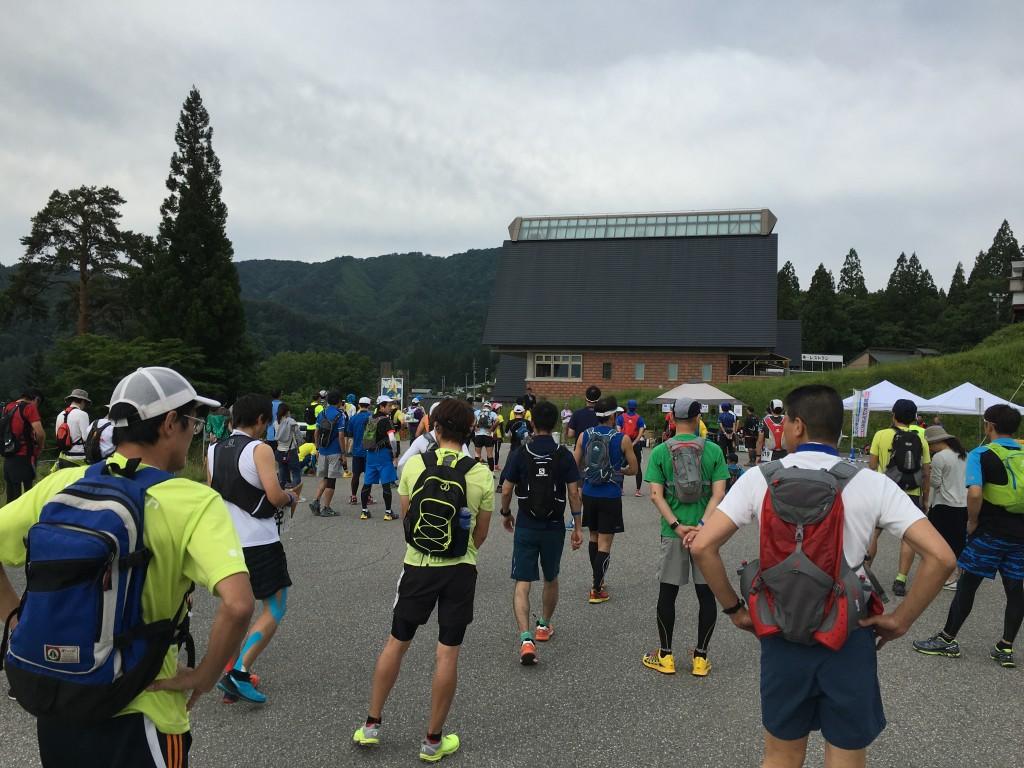奥飛騨トレイルラン 開会式
