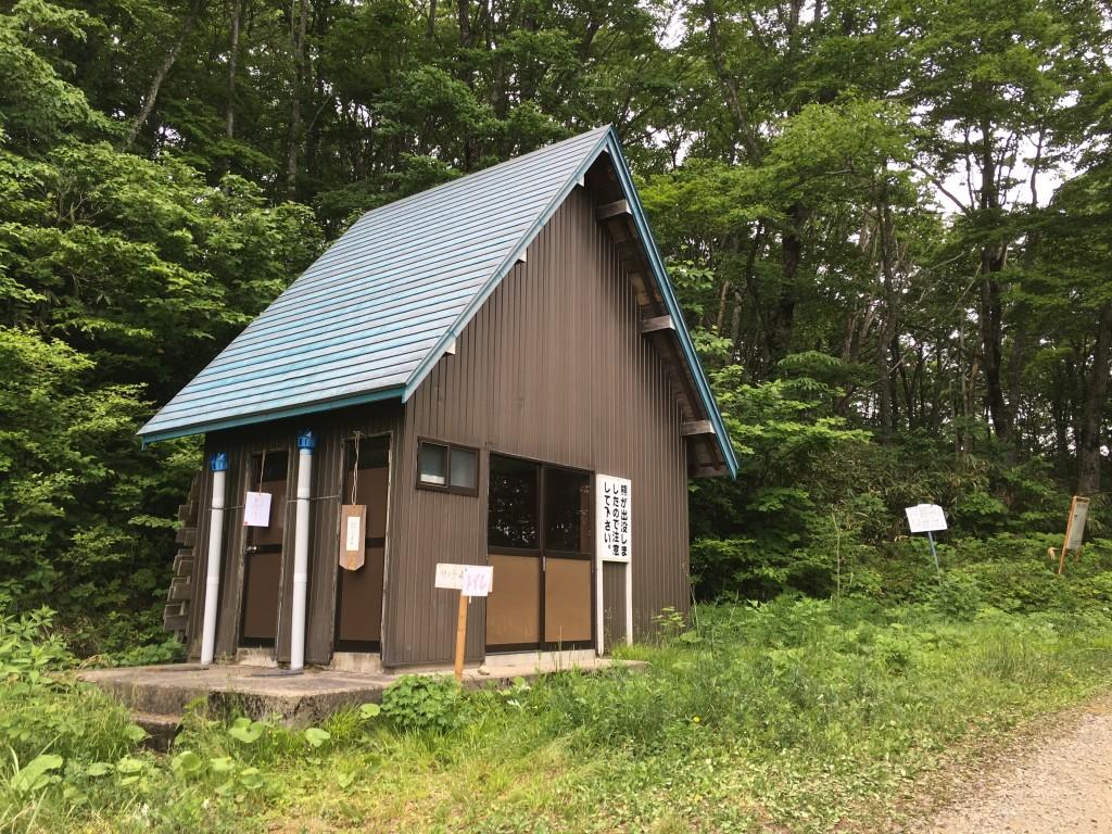 奥飛騨トレイルラン エイドステーション2 トイレ