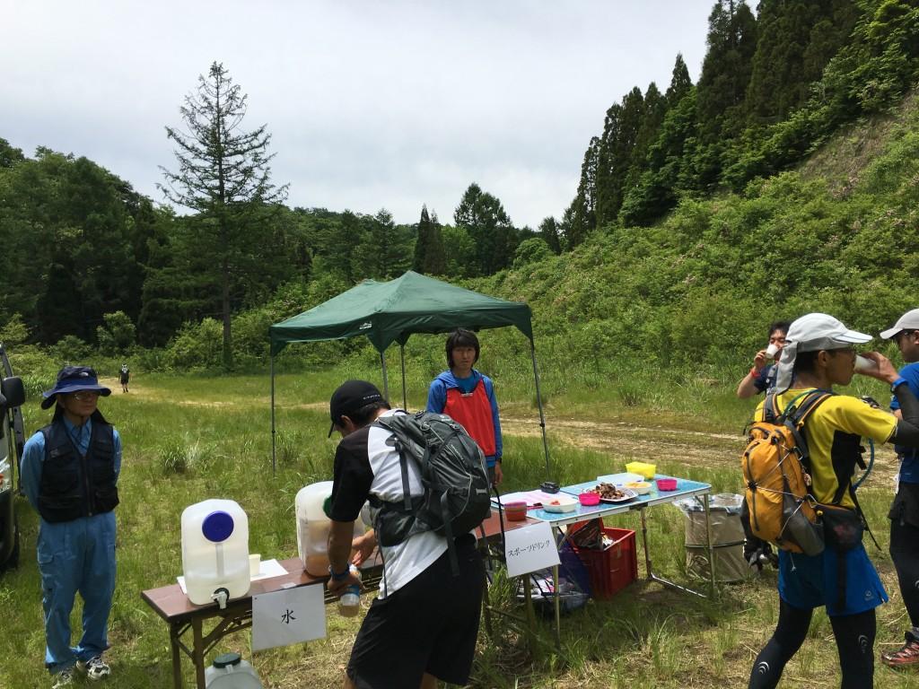 奥飛騨トレイルラン エイドステーション3