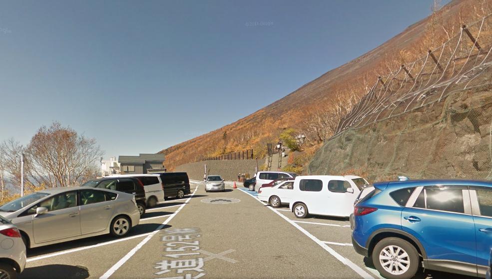 富士宮口五合目駐車場