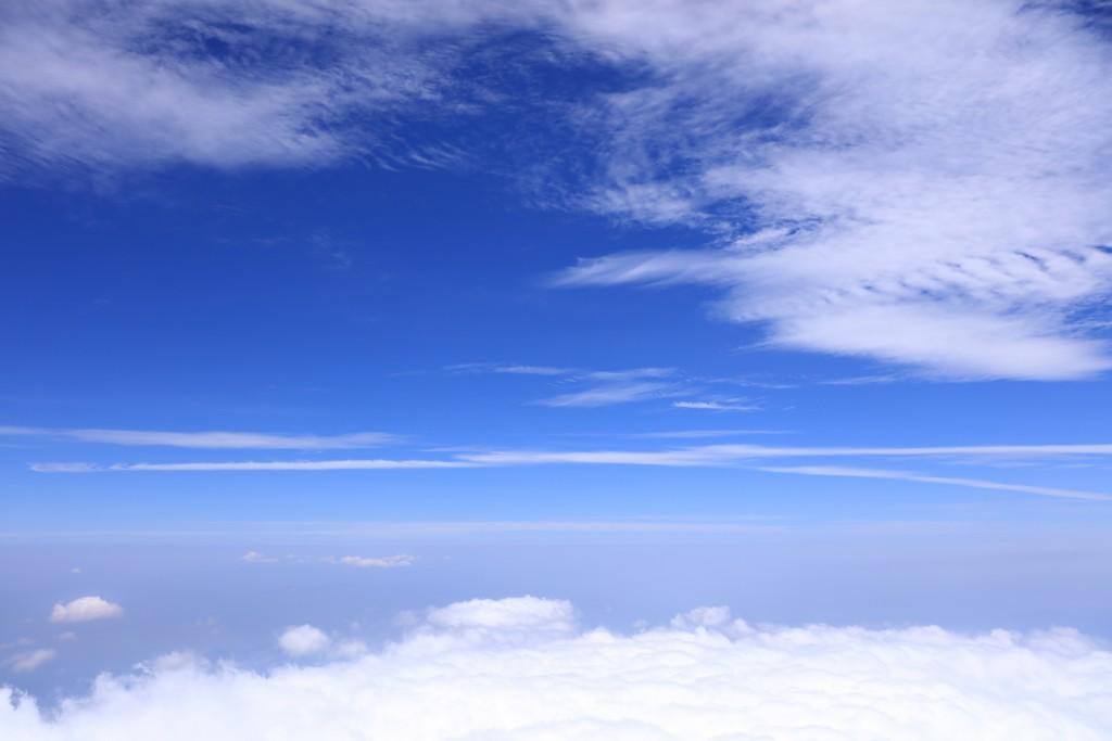富士山山頂からの眺め1