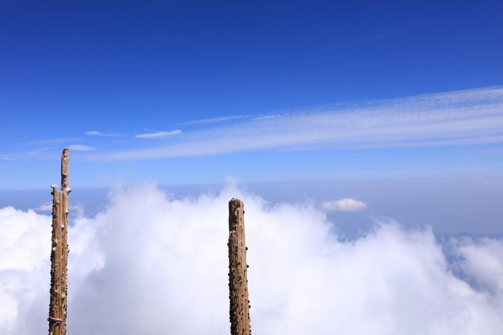 富士宮ルート 八合目からの景色2