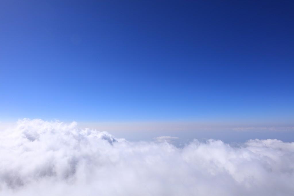 富士宮ルート 元祖七合目からの雲海
