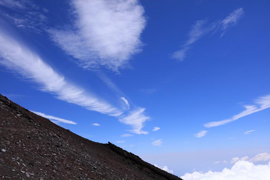 富士宮ルート 九合五尺〜頂上1