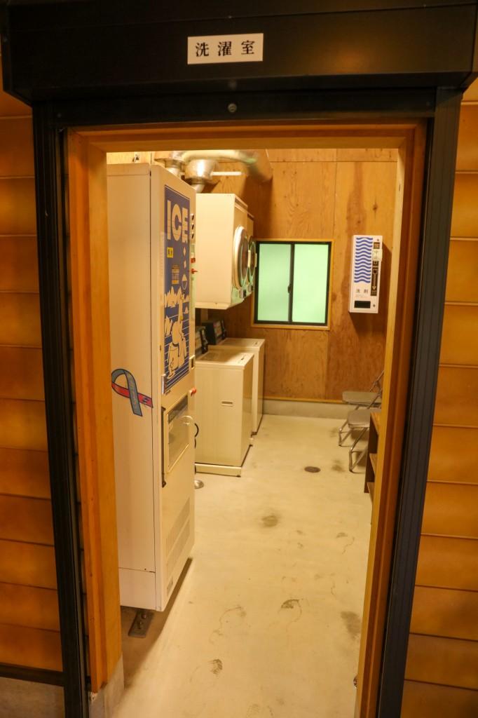 カオレオートキャンプ場 洗濯室1