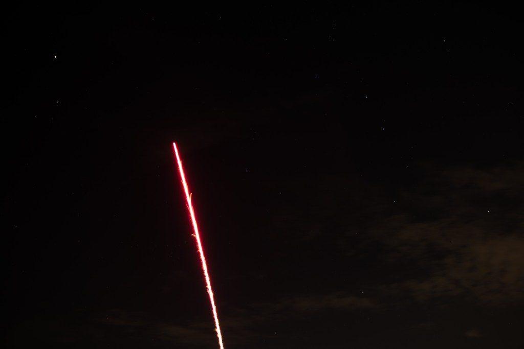 夜空の花火