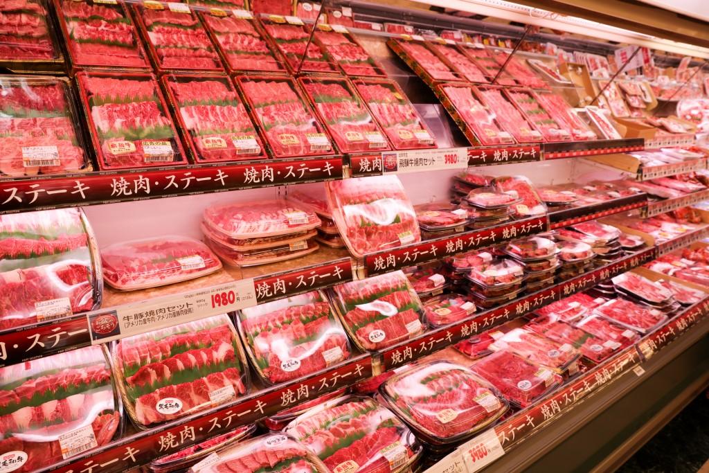 バロー八幡店 精肉コーナー