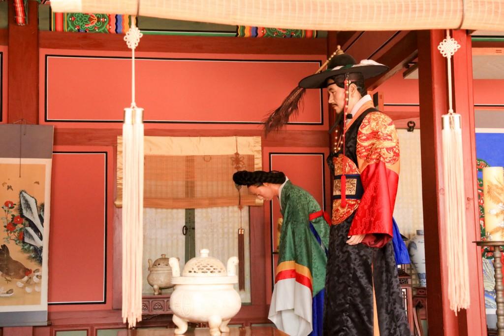 華城行宮 儀式