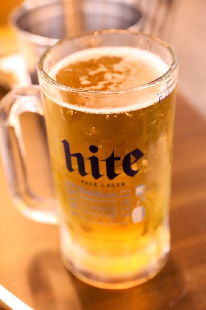 ジンミ・トンタッでビール