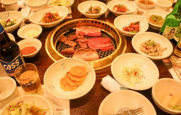 韓国 水原 カボジョンカルビ 焼肉1