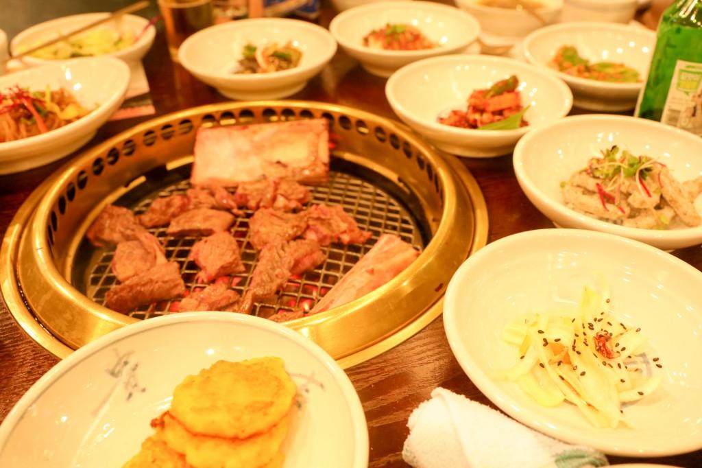 韓国 水原 カボジョンカルビ 焼肉2