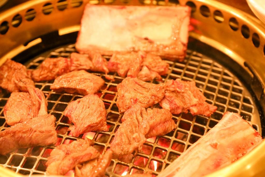 韓国 水原 カボジョンカルビ 焼肉3