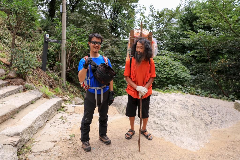北漢山で仙人と出会う2