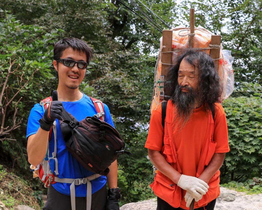 北漢山で仙人と出会う3
