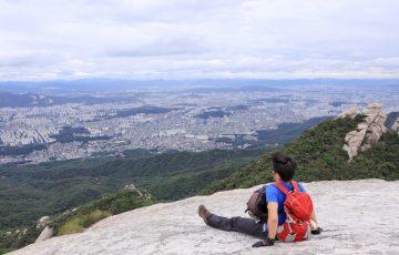 北漢山 頂上からの眺め5