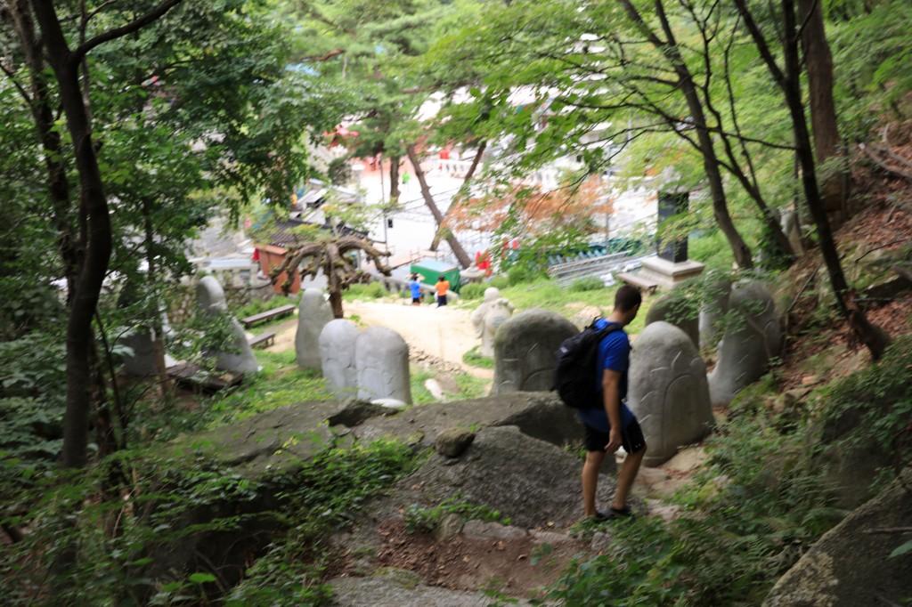 北漢山 道詵寺(トソンサ)が見えた!