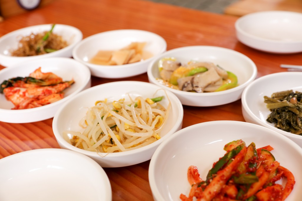 北漢山 登山後の昼食1