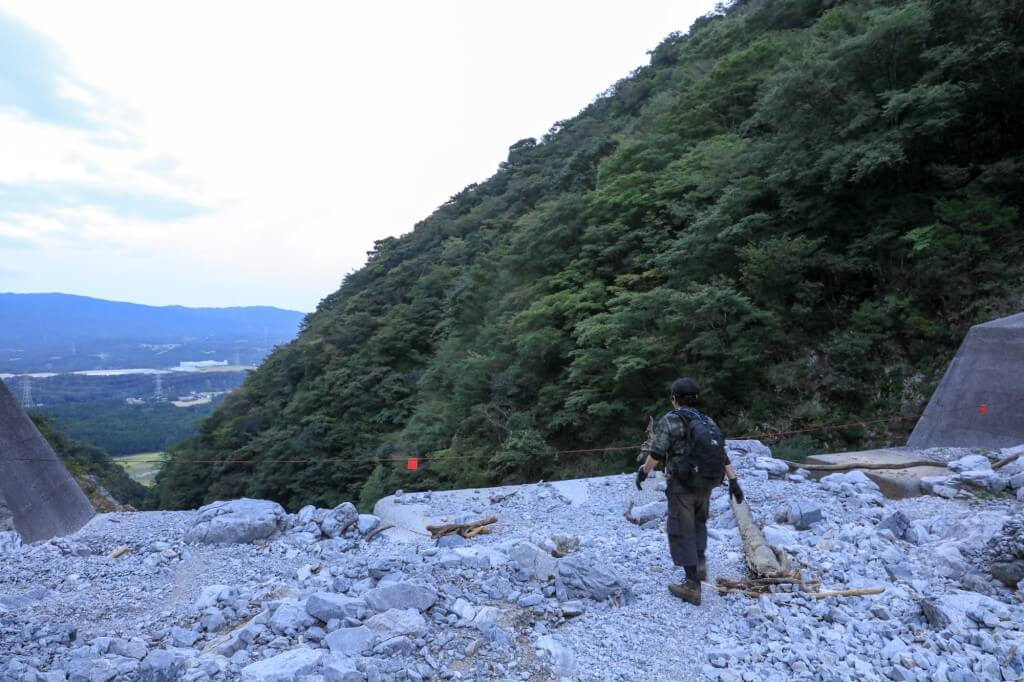 藤原岳 坂本谷ルートのダム1