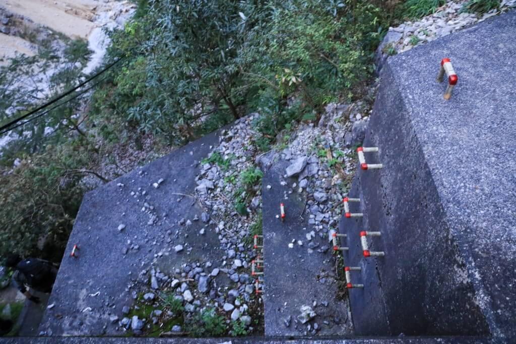 藤原岳 坂本谷ルートのダム2
