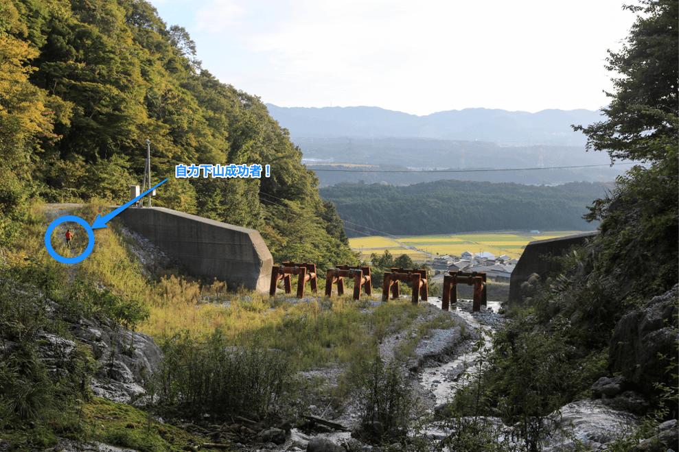 藤原岳 最後のダムとコアラ