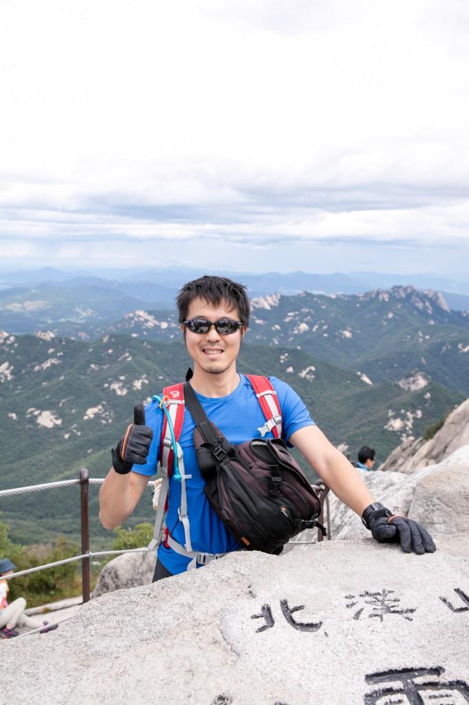 北漢山 頂上 白雲台2