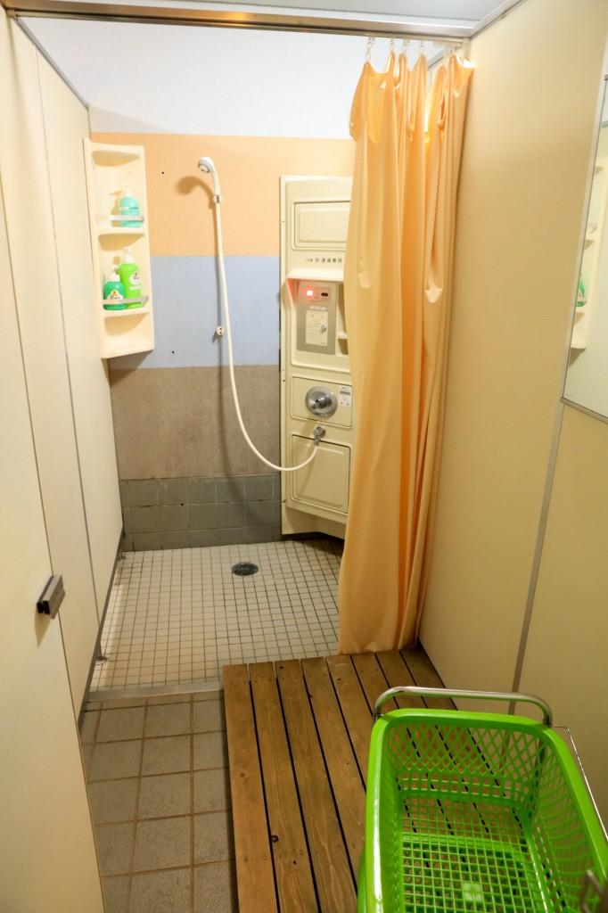 うるぎ星の森オートキャンプ場 シャワー3