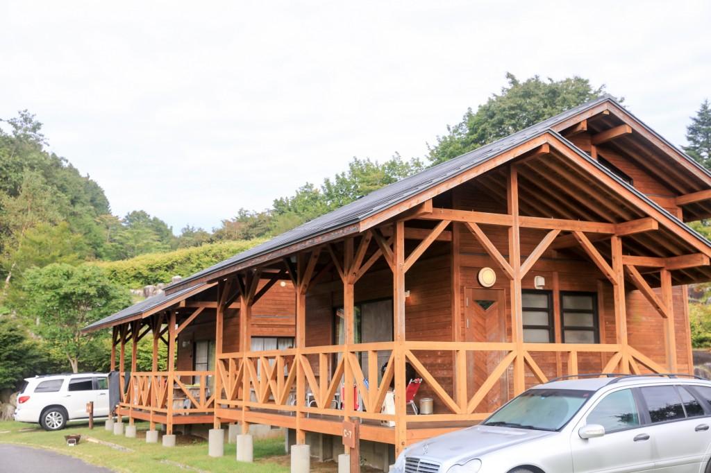 うるぎ星の森オートキャンプ場 キャビンサイト