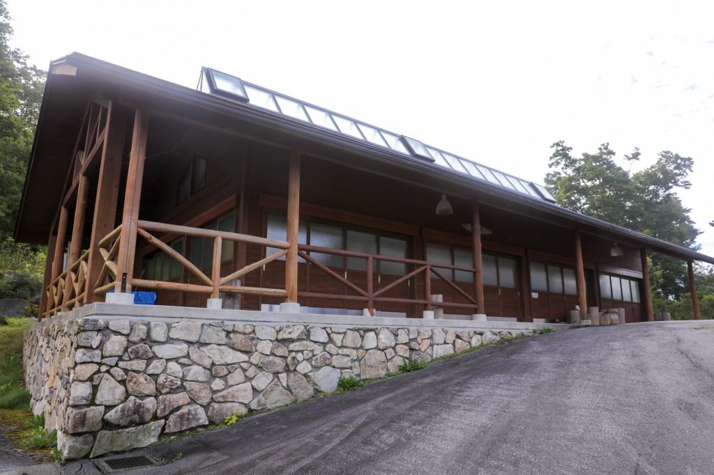 うるぎ星の森オートキャンプ場 サニタリーハウス2